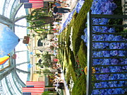 Pool Metal Prints - Las Vegas - Bellagio Casino - 12123 Metal Print by DC Photographer
