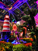 Bellagio Prints - Las Vegas - Bellagio Conservatory and Botanical Gardens Print by Lance Vaughn