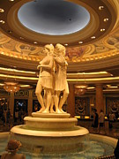 Statues Framed Prints - Las Vegas - Caesars Palace - 121210 Framed Print by DC Photographer