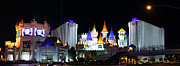 Decorated Prints - Las Vegas - Excalibur Casino - 01131 Print by DC Photographer