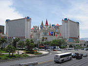 Medival Framed Prints - Las Vegas - Excalibur Casino - 12121 Framed Print by DC Photographer