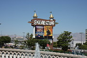 Castle Photo Metal Prints - Las Vegas - Excalibur Casino - 12123 Metal Print by DC Photographer
