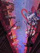 Game Photo Framed Prints - Las Vegas - Fremont Street Experience - 121213 Framed Print by DC Photographer