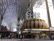 Game Photo Framed Prints - Las Vegas - Fremont Street Experience - 12123 Framed Print by DC Photographer
