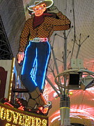 Las Vegas - Fremont Street Experience - 12124 Print by DC Photographer