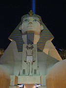 Egypt Prints - Las Vegas - Luxor Casino - 12121 Print by DC Photographer