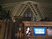 Lights Posters - Las Vegas - Luxor Casino - 12122 Poster by DC Photographer
