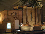 Egypt Prints - Las Vegas - Luxor Casino - 12123 Print by DC Photographer