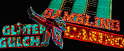 Sin Framed Prints - Las Vegas Neon Signs Fremont Street  Framed Print by Amy Cicconi