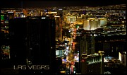 Bill Alexander Framed Prints - Las Vegas Nevada Framed Print by Bill Alexander