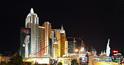 Empire Photo Prints - Las Vegas - New York New York Casino - 01132 Print by DC Photographer