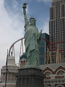 State Prints - Las Vegas - New York New York Casino - 12122 Print by DC Photographer