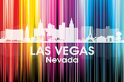 Industrial Mixed Media Prints - Las Vegas NV 2 Print by Angelina Vick