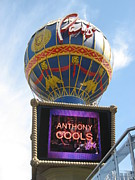 Balloon Posters - Las Vegas - Paris Casino - 12123 Poster by DC Photographer
