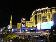 Planet Prints - Las Vegas - Planet Hollywood Casino - 12124 Print by DC Photographer