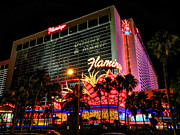 Las Vegas Prints - Las Vegas - The Flamingo 001 Print by Lance Vaughn