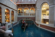 Venetian Prints - Las Vegas - Venetian Casino - 121215 Print by DC Photographer