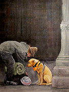 Homeless Paintings - Last Connection 1 - Trust by Ally Benbrook
