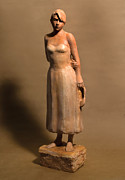 Clay Modeling Sculptures - Last Dance by Mary Buckman