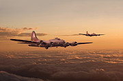 Military Aircraft Prints - Last Home Print by Pat Speirs