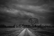 The Haunted House Originals - Last House On The Left BW by Michael Ver Sprill