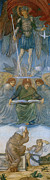 Dresses Digital Art - Last Judgement 2 by Edward Burne Jones