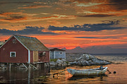Randall Nyhof - Last Light at Peggy