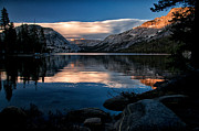 Lake Framed Prints - Last Light at Tenaya Framed Print by Cat Connor