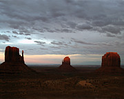 Jeff Brunton Metal Prints - Last Light-Monument Valley Metal Print by Jeff Brunton