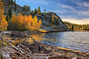 Last Light On Taylor Lake Print by James Eddy