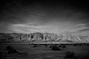 Dry Lake Prints - Last Light Print by Peter Tellone