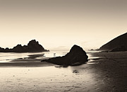 Big Sur Photos - Last Light Pfeiffer Beach by Dave Gordon