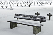 Grave Photos - Last Resting Place Of Snowflakes by Dirk Ercken