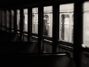 Train Car Framed Prints - Last Stop Framed Print by Amy Weiss