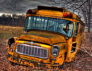 Rural School Bus Photos - Last Stop by Steve Ratliff