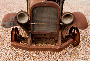 Rusted Cars Photo Acrylic Prints - Last Stop Acrylic Print by Steven Milner