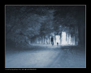 Last Walk With My Old Friend Print by Pedro L Gili