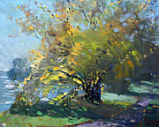 Ylli Haruni Prints - Late Afternoon by the River Print by Ylli Haruni