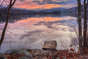 Late Fall Early Winter Print by Bill  Wakeley