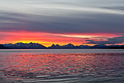Norway Prints - Late November sunset Print by Frank Olsen