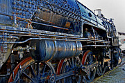 Train Pictures Prints - Latent Power Print by Skip Willits