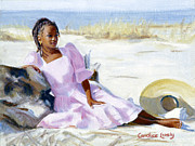Copley Paintings - Latesha by Candace Lovely