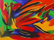 For The Home Paintings - Latin Choreography by Donna Blackhall