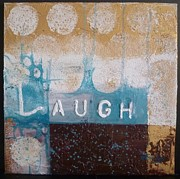 Laugh Mixed Media - Laugh by A Vimla Dindoyal