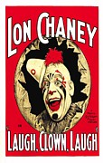 Motion Picture Poster Framed Prints - Laugh  Clown  Laugh  Framed Print by Movie Poster Prints