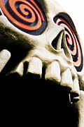 Tisdale Art - Laughing Skull - Little Five Points by Mark E Tisdale