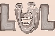 Slang Digital Art - Laughs Out Loud by Marc Allen