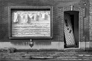 Laundry And Abandoned House Print by Dirk Ercken