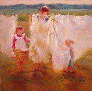 Diane Leonard - Laundry Day