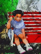 Vannetta Ferguson - Lauren On The Swing